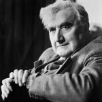 Original Caption: Portrait of Ralph Vaughan Williams (1872-1958), English composer.  Undated photograph.
